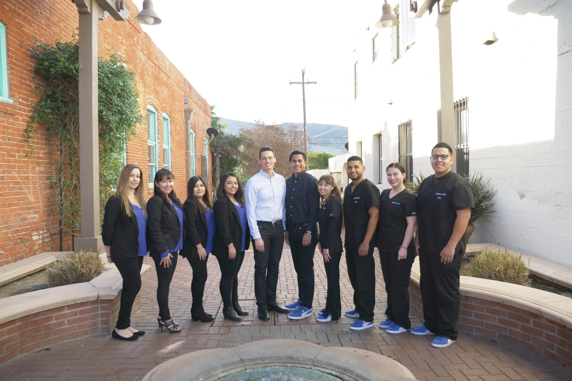 Dr.Jared Lee and the team